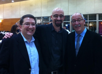 A last photo with star author Andreu Martin