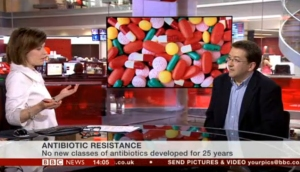 Jane Hill asked me about my views on antibiotic resistance and the announcement of a new review