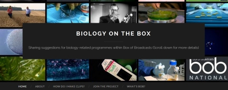 biologyonthebox.wordpress.com is a site for sharing recommendations regarding TV and radio resources for use in teaching bioscience